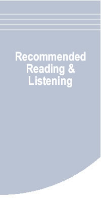 Recommended Reading & Listening